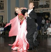 Chris Hawkins and Justyna Hawkins, Ballroom dance champions