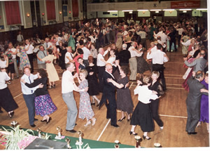 Social Dancing in Torquay Town Hall
